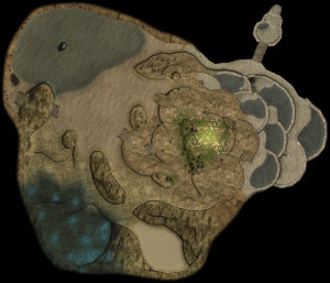 Overview of the The Forest Navel, cropped. From File:The Forest Navel HD.jpg.