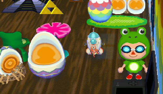 The S.S. Dolphin as seen in Animal Crossing: New Leaf.