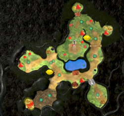 Radar image for Tropical Forest (Collect Treasure!).