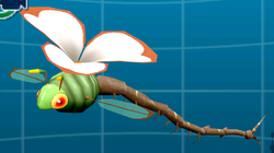A Muggonfly in the Creature Log. Enhanced with Citra.