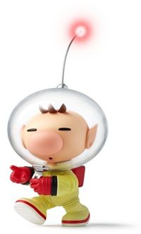 Olimar, as he appears in the Pikmin Short Movies.