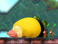 The sleeping Mockiwi cutscene in The Lonely Tower.