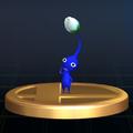 Blue Pikmin trophy SSBB.png