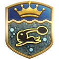 """The """"Legendary Archaeologist"""" badge in Pikmin 3 Deluxe."""