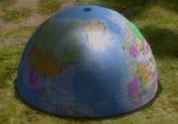 Screenshot of the Spherical Atlas treasure.