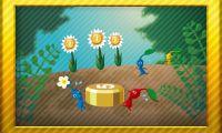 Pikmin badges in Nintendo Badge Arcade.