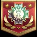 """The """"Dedicated Adventurer"""" badge in Pikmin 3 Deluxe."""