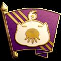"The ""President's Favor"" badge in Pikmin 3 Deluxe."