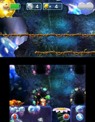 The first main Springpetal room in Springpetal Cave.