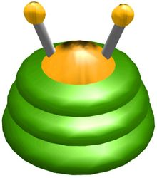 The Positron Generator from Pikmin.