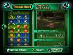 Screenshot of the Treasure Hoard.
