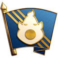 """The """"Working Overtime"""" badge in Pikmin 3 Deluxe."""