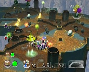 An overview of Cavern of Chaos sublevel 1.