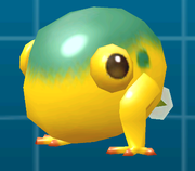 A Young Yellow Wollywog.