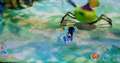 Blue Pikmin with bomb rock P3.png