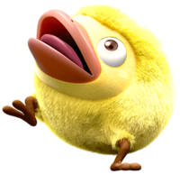 The Mockiwi's spirit in Super Smash Bros. Ultimate. It uses official artwork from Hey! Pikmin.