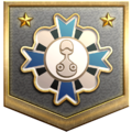 """The """"Getting Closer"""" badge in Pikmin 3 Deluxe."""