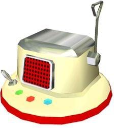 The Interstellar Radio from Pikmin.