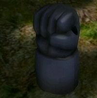 The Brute Knuckles as shown from the Treasure Hoard.
