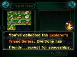 The Hocotate ship's announcement for the Explorer's Friend Series.