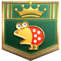 """The """"Game Hunter"""" badge in Pikmin 3 Deluxe."""