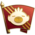 """The """"Adventure into the Unknown"""" badge in Pikmin 3 Deluxe."""