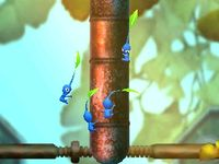The pipe cutscene in The Lonely Tower.