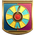 """The """"Gadget Master"""" badge in Pikmin 3 Deluxe."""