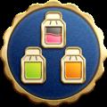 "The ""Efficiency Expert"" badge in Pikmin 3 Deluxe."
