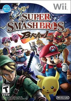 Box art for Super Smash Bros. Brawl.