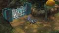 Rock Pikmin damage crystal wall P3.png