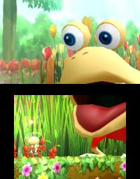The Bulborb cutscene in The Shadow in the Brush.
