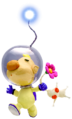 Louie and White Pikmin P2 art.png