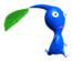 The Blue Pikmin sticker in Super Smash Bros. Brawl.