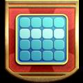 "The ""Bingo Buff"" badge in Pikmin 3 Deluxe."