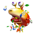Red Bulborb and Pikmin.png