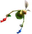 Swooping Snitchbug carries Pikmin P1.png