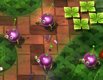 Four Creepy Beebs in Pikmin Adventure.