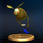 The Swooping Snitchbug trophy from Super Smash Bros. Brawl.