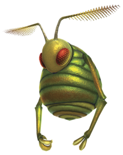 Artwork of a Swooping Snitchbug.