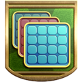 """The """"Bingo Fiend"""" badge in Pikmin 3 Deluxe."""