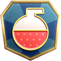"""The """"Power Surge"""" badge in Pikmin 3 Deluxe."""