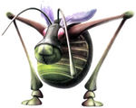 Artwork of the Antenna Beetle.