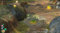 Yellow Wollywogs attack Rock Pikmin P3.png