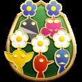 """The """"Gardener"""" badge in Pikmin 3 Deluxe."""