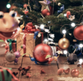 Pikmin 3 Deluxe Christmas art.png