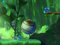 The baseball cutscene in Treacherous Currents.
