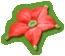 The Crimson Candypop Bud sticker in Super Smash Bros. Brawl.